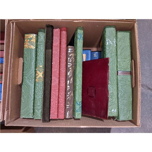 Six boxes of Chilling Adventures prop books