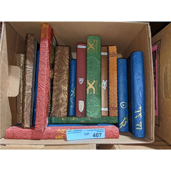 Box Occult prop books from Chilling Adventures