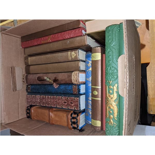 Eight boxes of occult books from chilling adventures