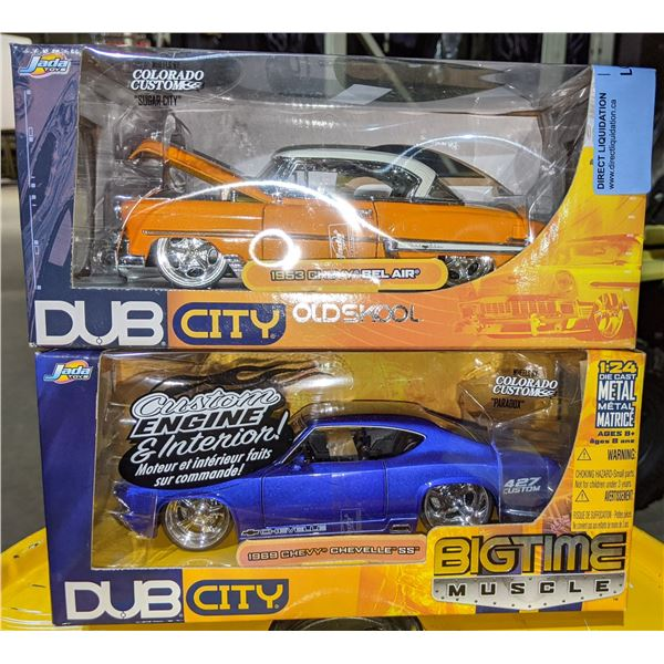 Bigtime Musle DUB City 1969 Chevy Chevelle SS & 1953 Chevy BELAIR