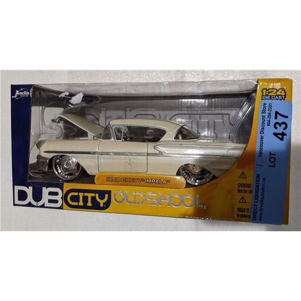 Dub City old skool 1958 Chevy Impala toy