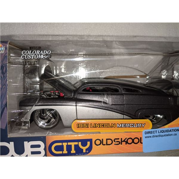 Dub City old skool 1951 Lincoln Mercury toy reveals by Colorado custom  LA Salle