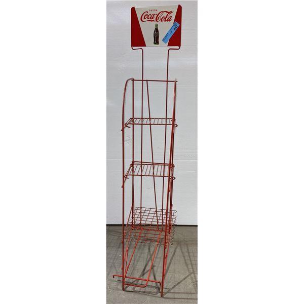 Vintage Coca-Cola stand - 46  H