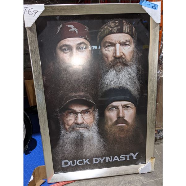 Duck Dynasty framed poster 37 x25