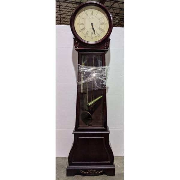 """Daniel Dakota grandfather clock approximately 69"""" tall x 18"""" W x 9"""" D"""