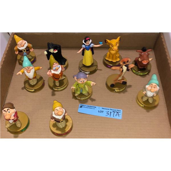 Set of McDonald's Disney characters approx. 12 pieces