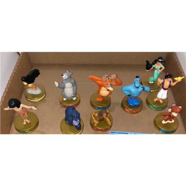 Set of McDonald's Disney characters approx. 10 pieces