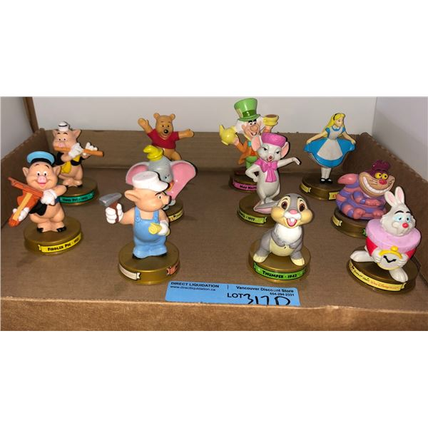Set of McDonald's Disney characters approx. 11 pieces