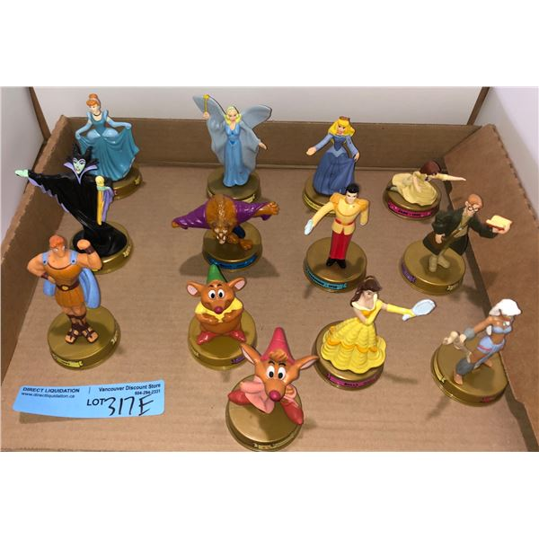 Set of McDonald's Disney characters approx. 13 pieces