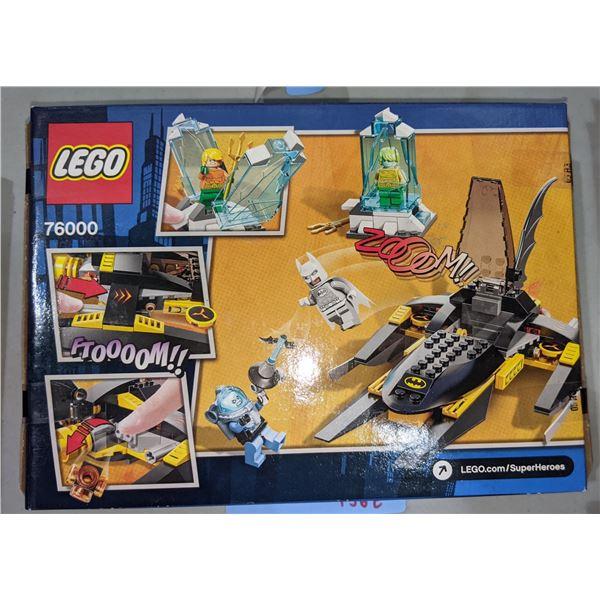 Lego Arctic Batman vs Mr. Freeze: Aquaman on Ice (76000) - Brand new in box