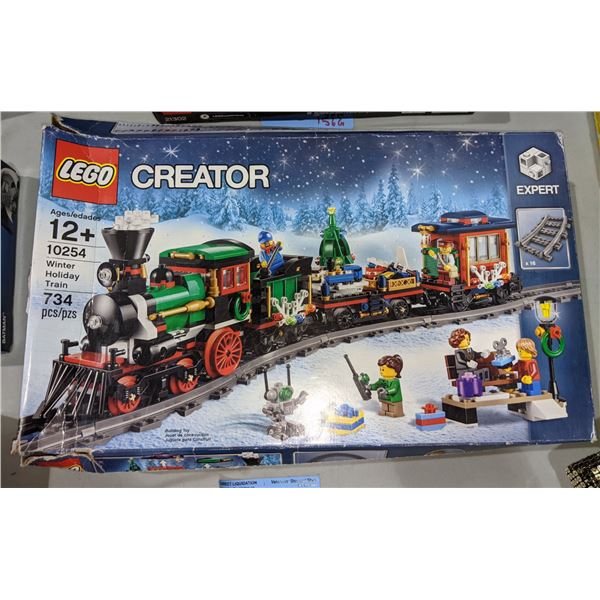 Lego Creator: Winter Holiday Train (10254) - Brand new in boxÊ