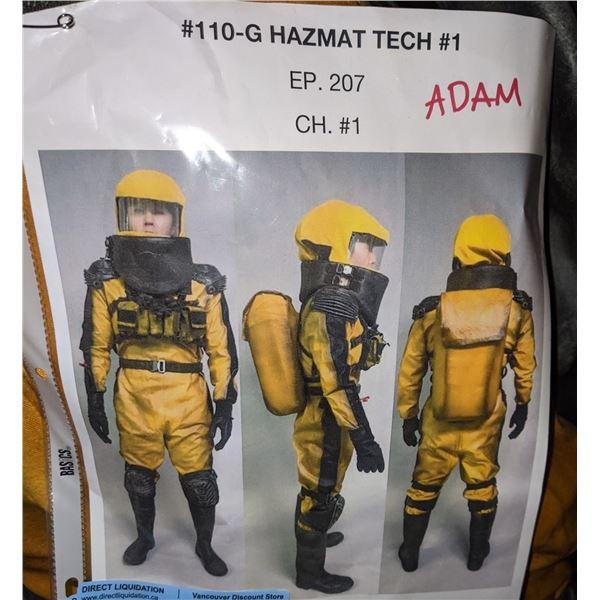 Complete Hazmat suit from the Sci-fi show