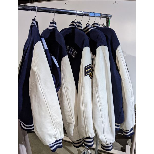 Multiple Osborne football jackets from the show