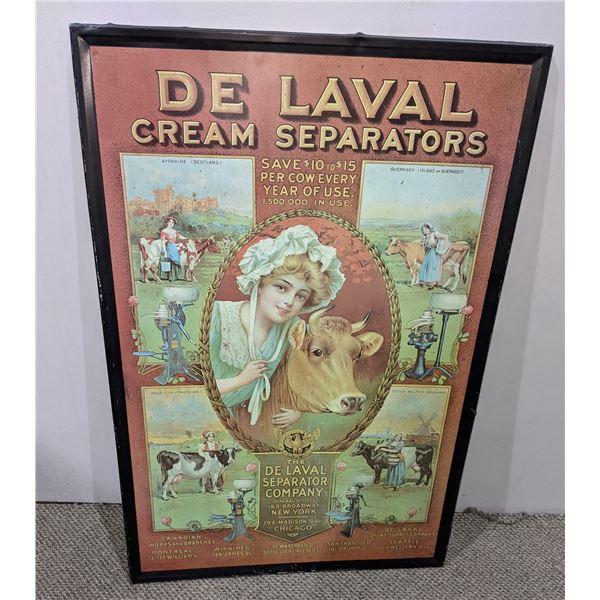 De Laval Cream Separators Tin Sign Reproduction?