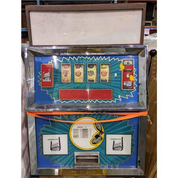 Horseshoe Club Slot Machine by Al-Don Rare