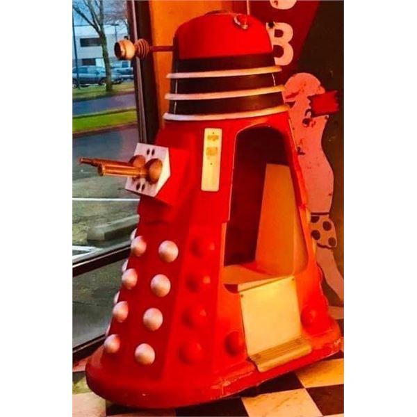 Dr. Who Dalek Kiddie Ride