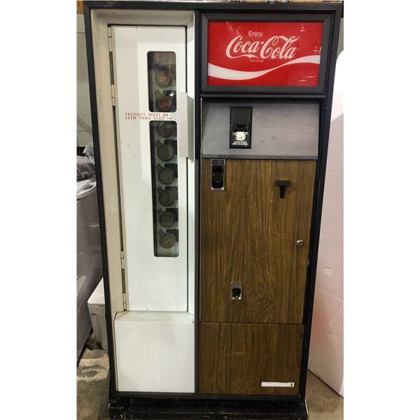"""Coke Vending Machine (28""""L x 23""""D x 55""""H)"""