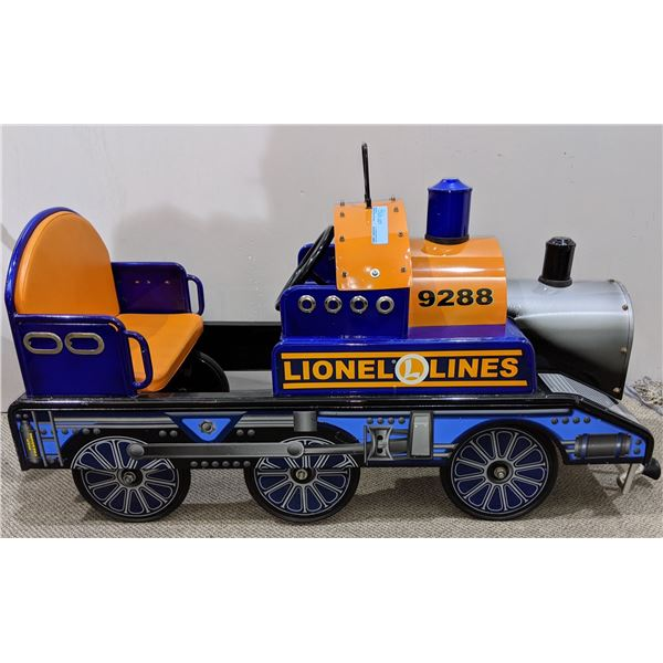 "Lionel Line Pedal Train (17""L x 24""H x 45""W)"
