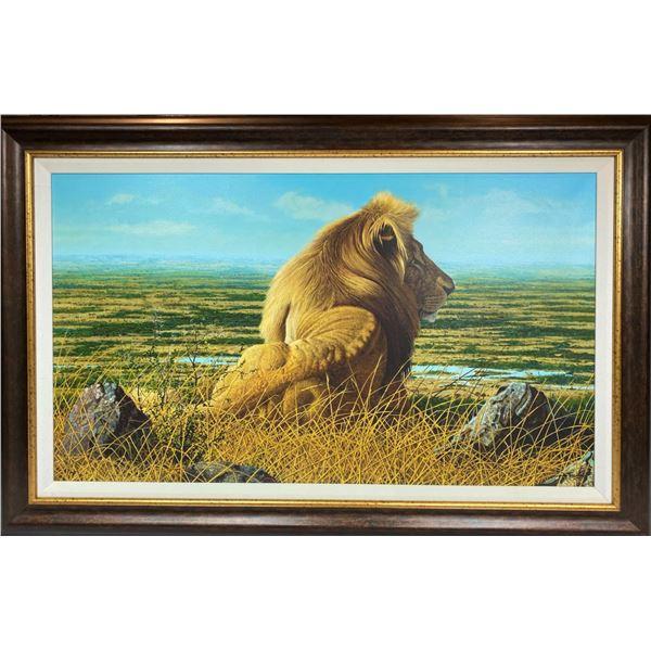 Lion Giclee by Craig Bone