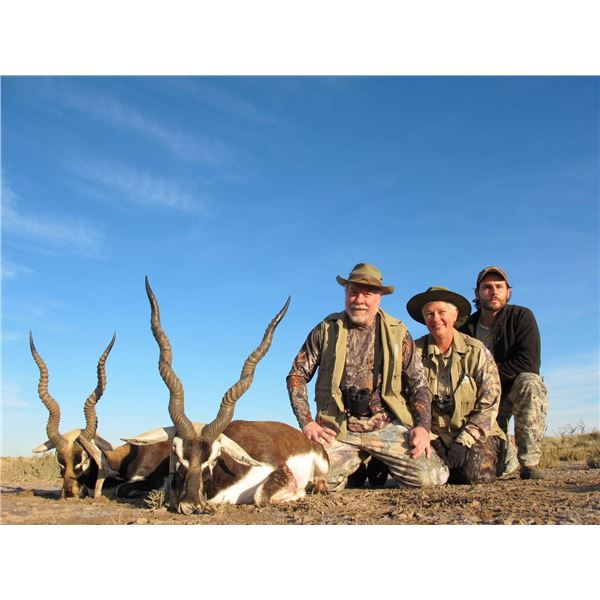 Catena Safaris Argentina All inclusive hunting trip, 5 Days for 2 Hunters with 2 animals included