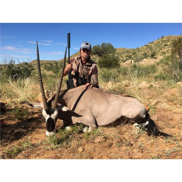 Namibian African Safari for 3 hunters for 6 days