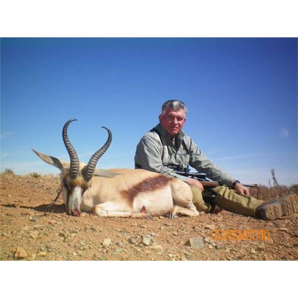 Eastern Cape South Africa 7 days hunting for 3 hunters includes 3 animals shared