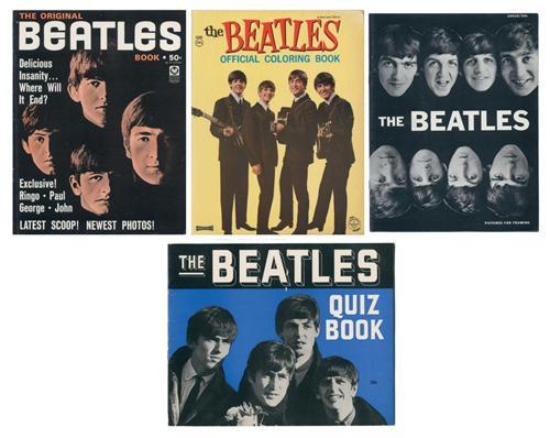 The Beatles Coloring Book, Quiz Book & Magazines