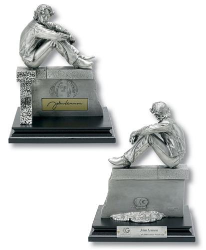 John Lennon Limited Edition Pewter Figurine