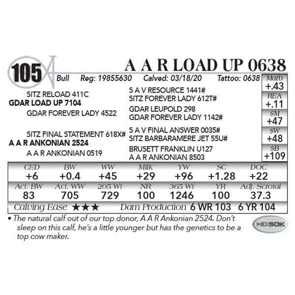 A A R Load Up 0638