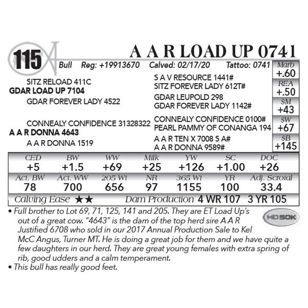A A R Load Up 0741