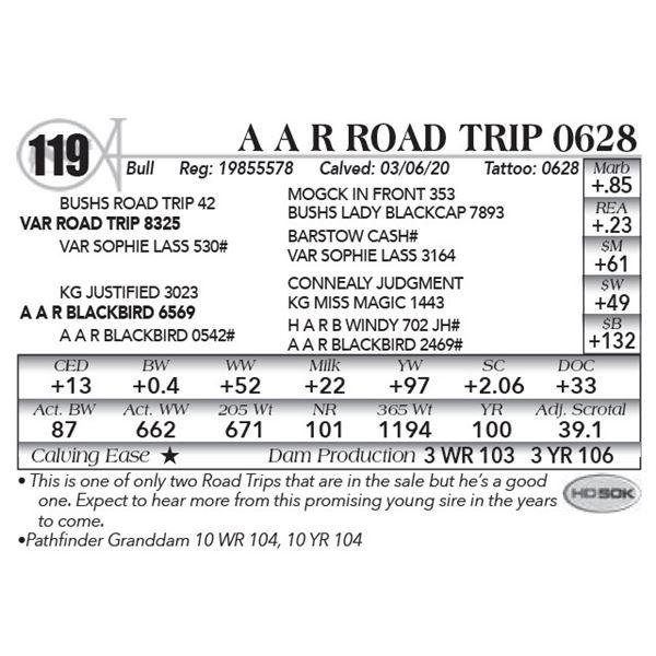 A A R Road Trip 0628