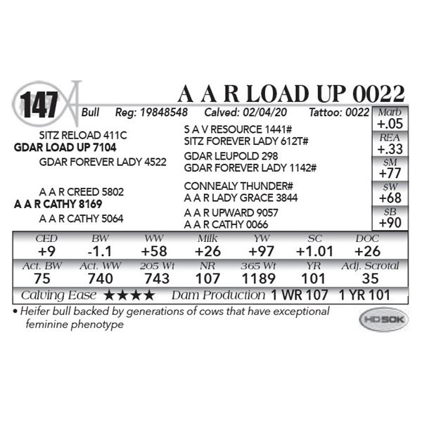 A A R Load Up 0022