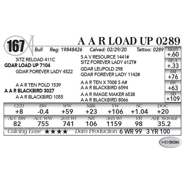 A A R Load Up 0289