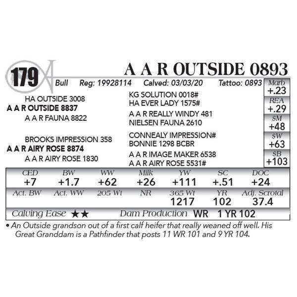 A A R Outside 0893