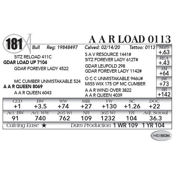 A A R Load 0113