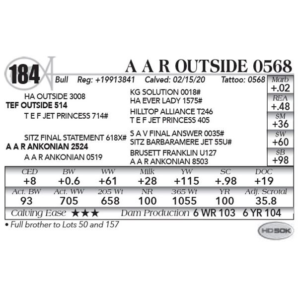 A A R Outside 0568