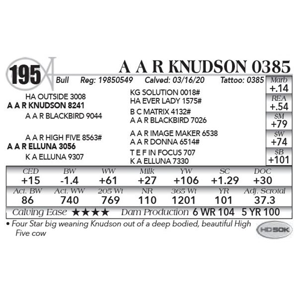 A A R Knudson 0385