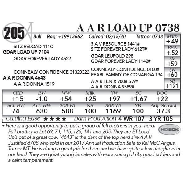 A A R Load Up 0738