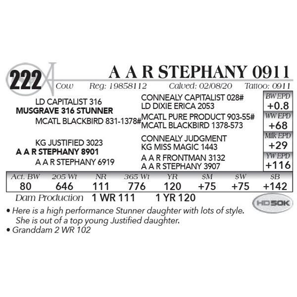 A A R Stephany 0911