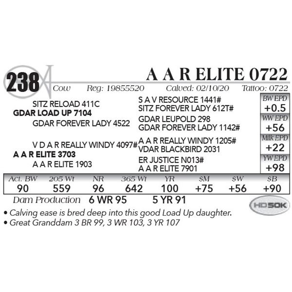 A A R Elite 0722