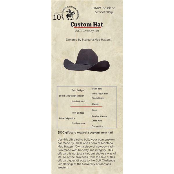 Custom Hat - 2021 Cowboy Hat