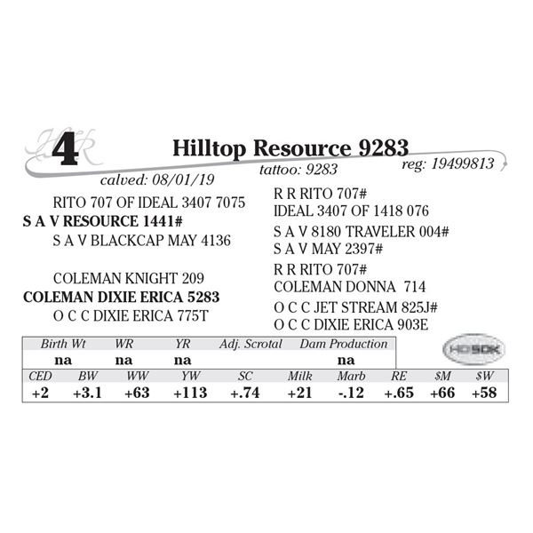 MH Resource 9283