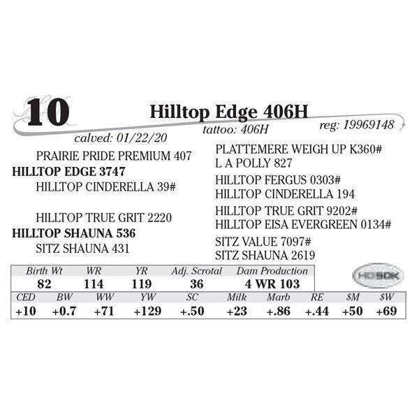 Hilltop Edge 406H