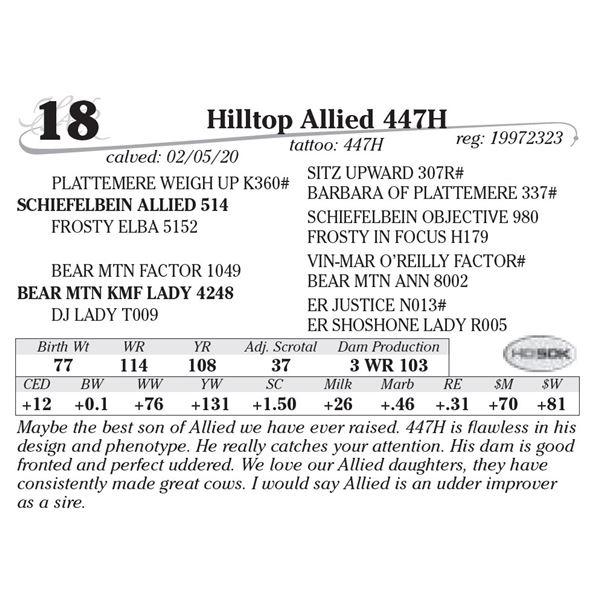 Hilltop Allied 447h