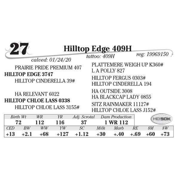Hilltop Edge 409H