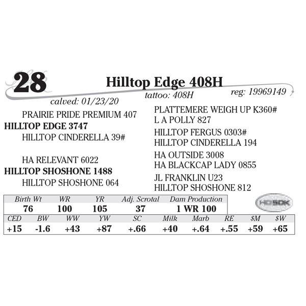 Hilltop Edge 408H