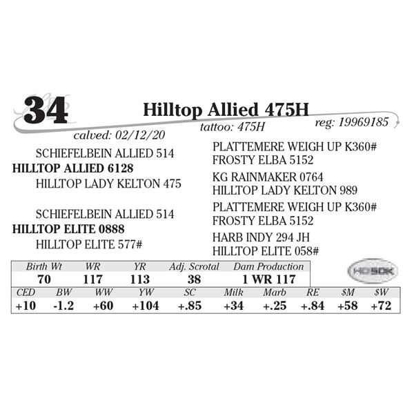 Hilltop Allied 475H