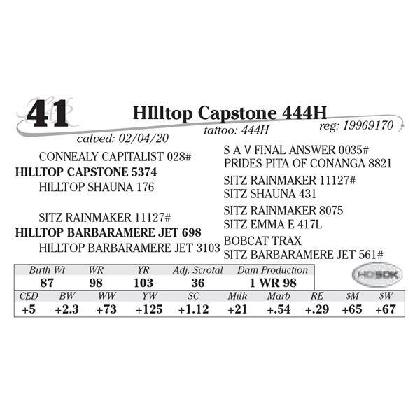 HIlltop Capstone 444H
