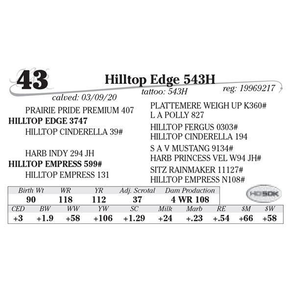 Hilltop Edge 543H