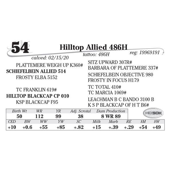 Hilltop Allied 486H